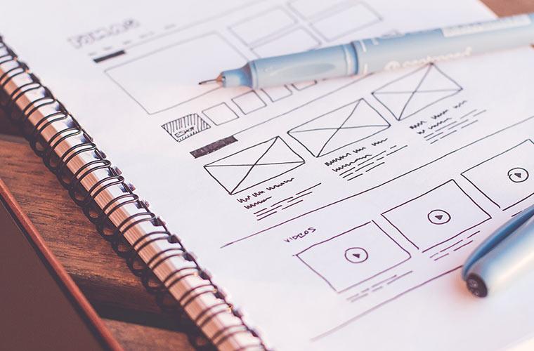 Wireframe Software für Web-Projekte
